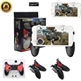 Sami 5-in-1 Upgrade Version Gamepad Shoot and Aim Trigger for Android and iOS Smartphones