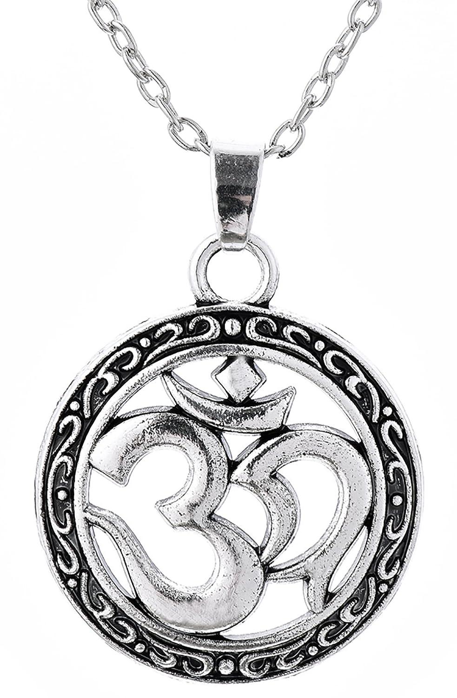 Dawapara Alter Keltischer Knoten Aum OM Ohm Sanskrit Yoga-Armband mit Religiöse Hindu-Schmuck für Männer Frauen YiYou