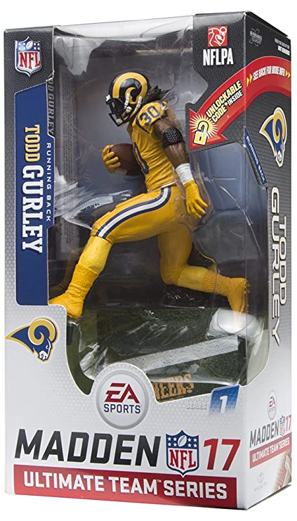 Image Unavailable. Image not available for. Color  McFarlane Toys EA Sports  Madden NFL 17 Ultimate Team Todd Gurley Los Angeles Rams ... ef990e392
