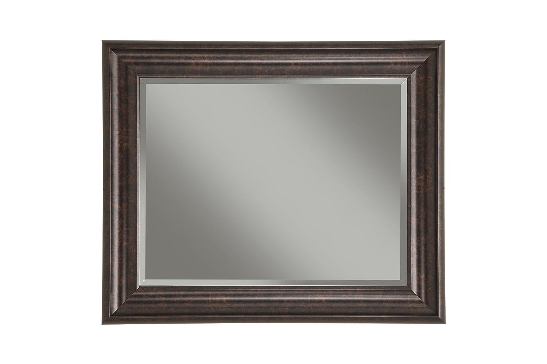 Sandberg Furniture Oil Rubbed Bronze Wall Mirror, 36 x 30