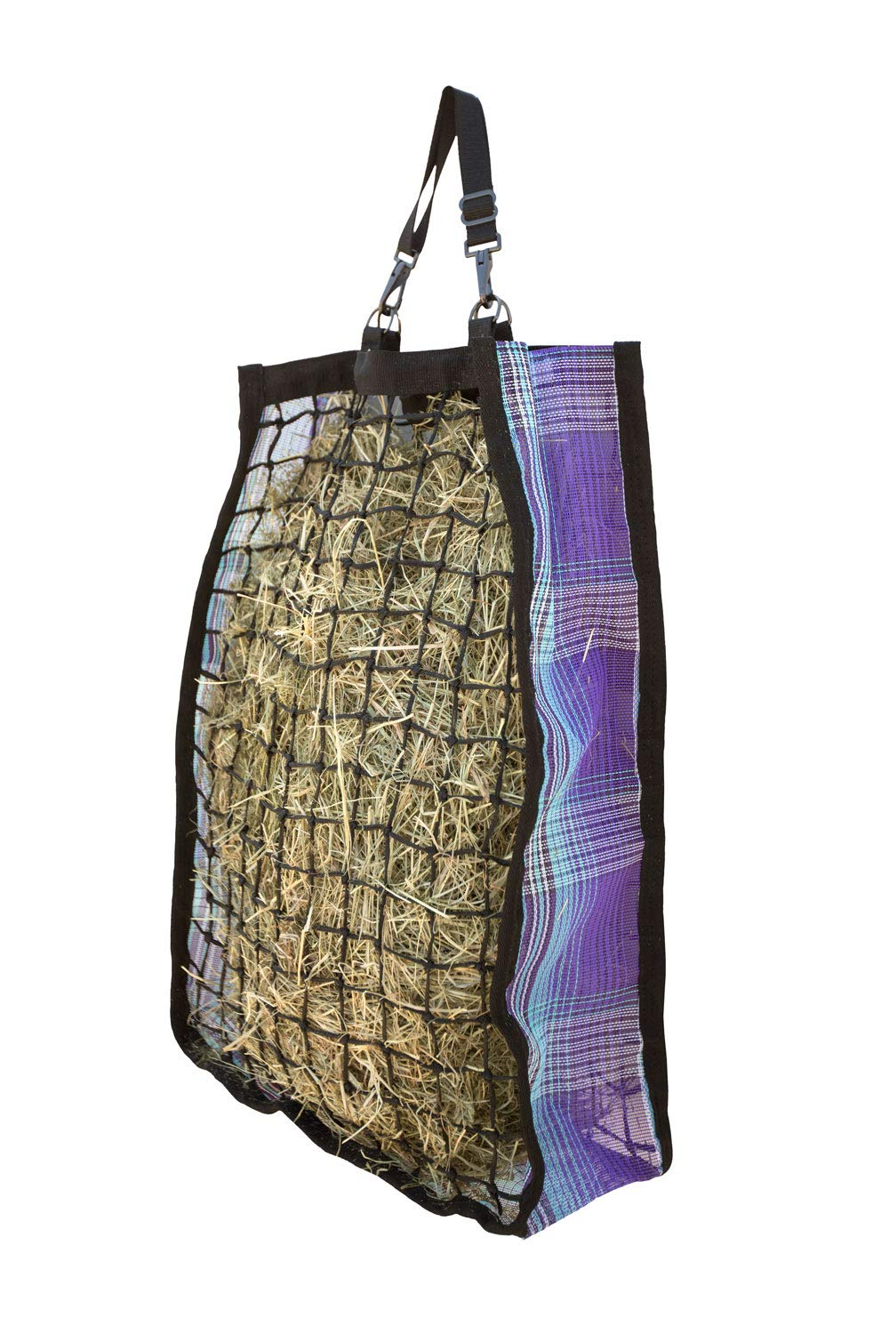 Kensington Slow Feed Hay Bag (4 Flake, Lavender Mint Plaid) by Kensington Protective Products