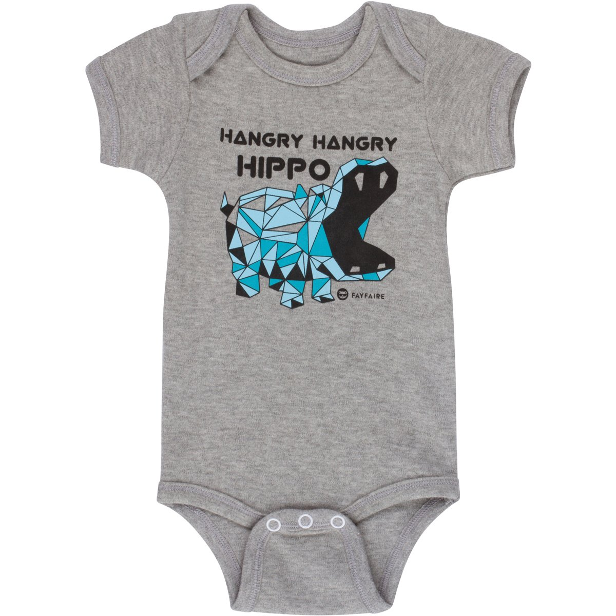 Unique Baby Gifts by Fayfaire Boutique   Extravagant Hangry Hangry Hippos NB-12M