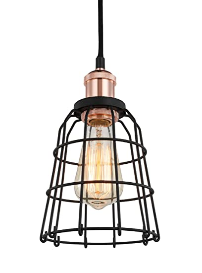 Amazon.com: Woodbridge 18323COPWL-SW106BK Lighting - Lámpara ...