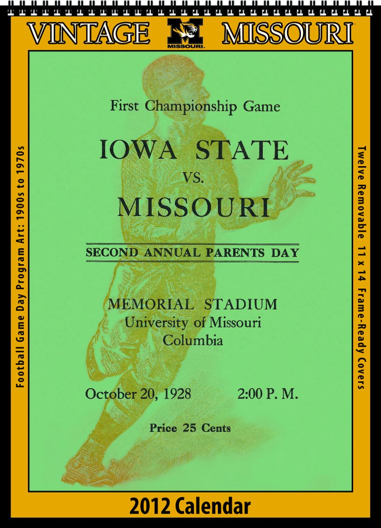 Missouri Tigers 2012 Vintage Football Calendar: Asgard Press:  9781603685900: Amazon.com: Books