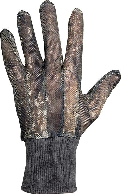 Ol Tom Camo Mesh Backed Tukery Gloves X-Large Realtree Timber Camo