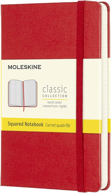 Moleskine - Cuaderno Clásico con Páginas Cuadriculada, Tapa Dura y ...