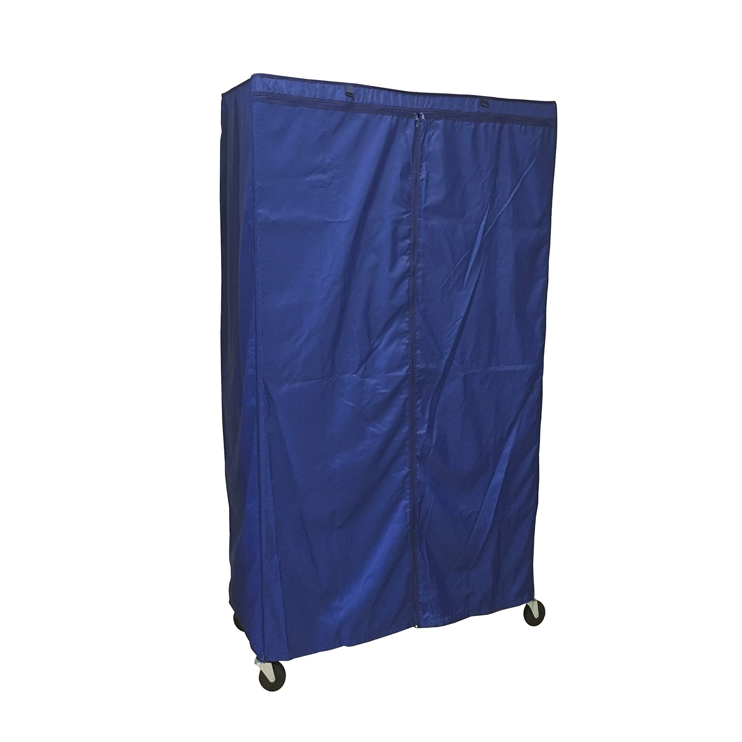 Formosa Covers Storage Shelving Unit Cover, fit Racks 36'' Wx18 Dx72 H (Cover Only, Royal Blue)