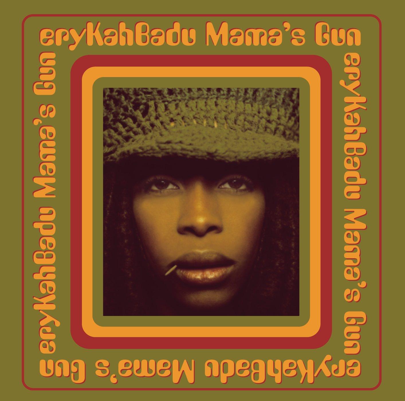 Image result for erykah badu mama's gun vinyl art