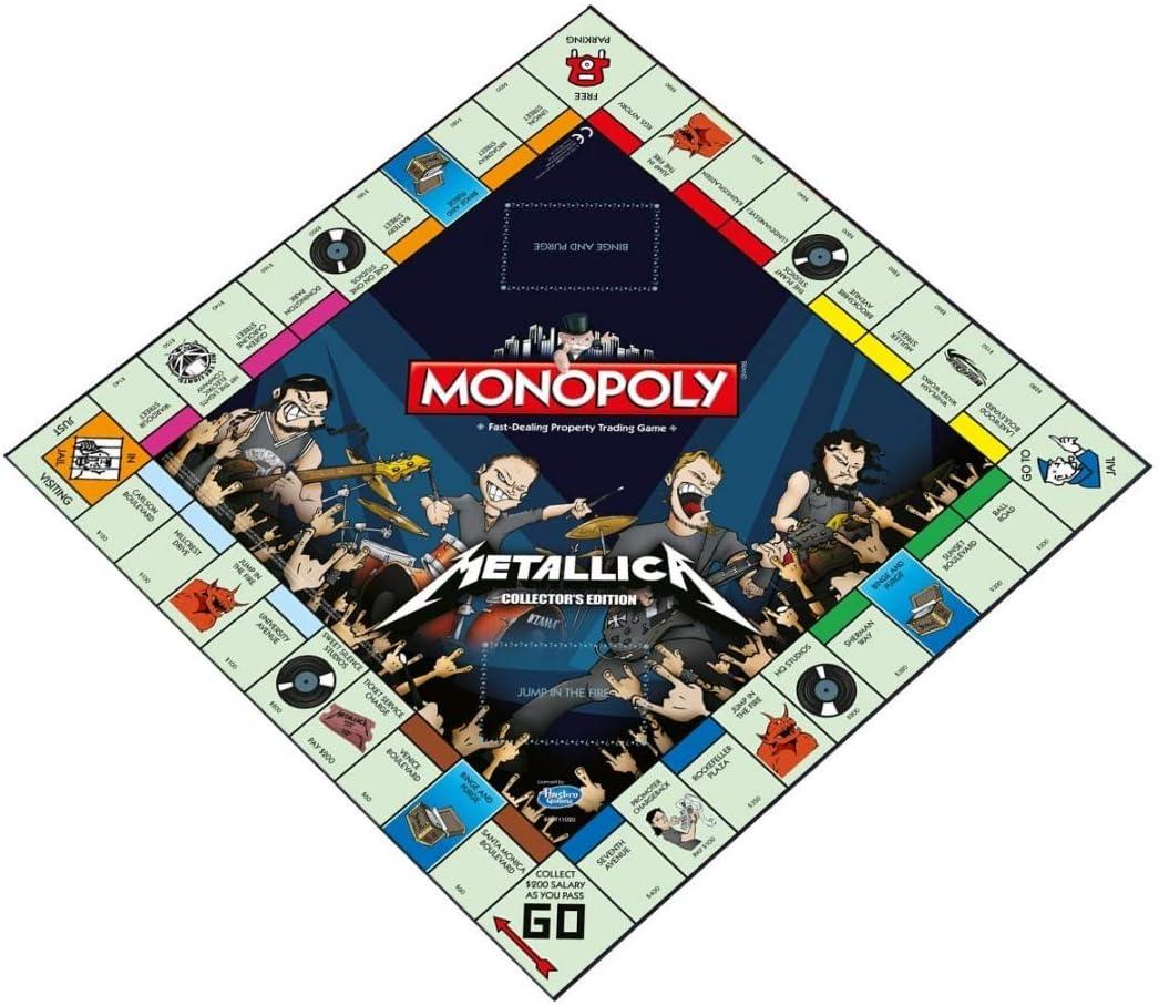 Metallica Monopoly: Edición de coleccionista: Amazon.es: Juguetes y juegos