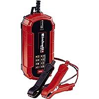Einhell 1002215 Cargador de baterías, Rojo, Negro