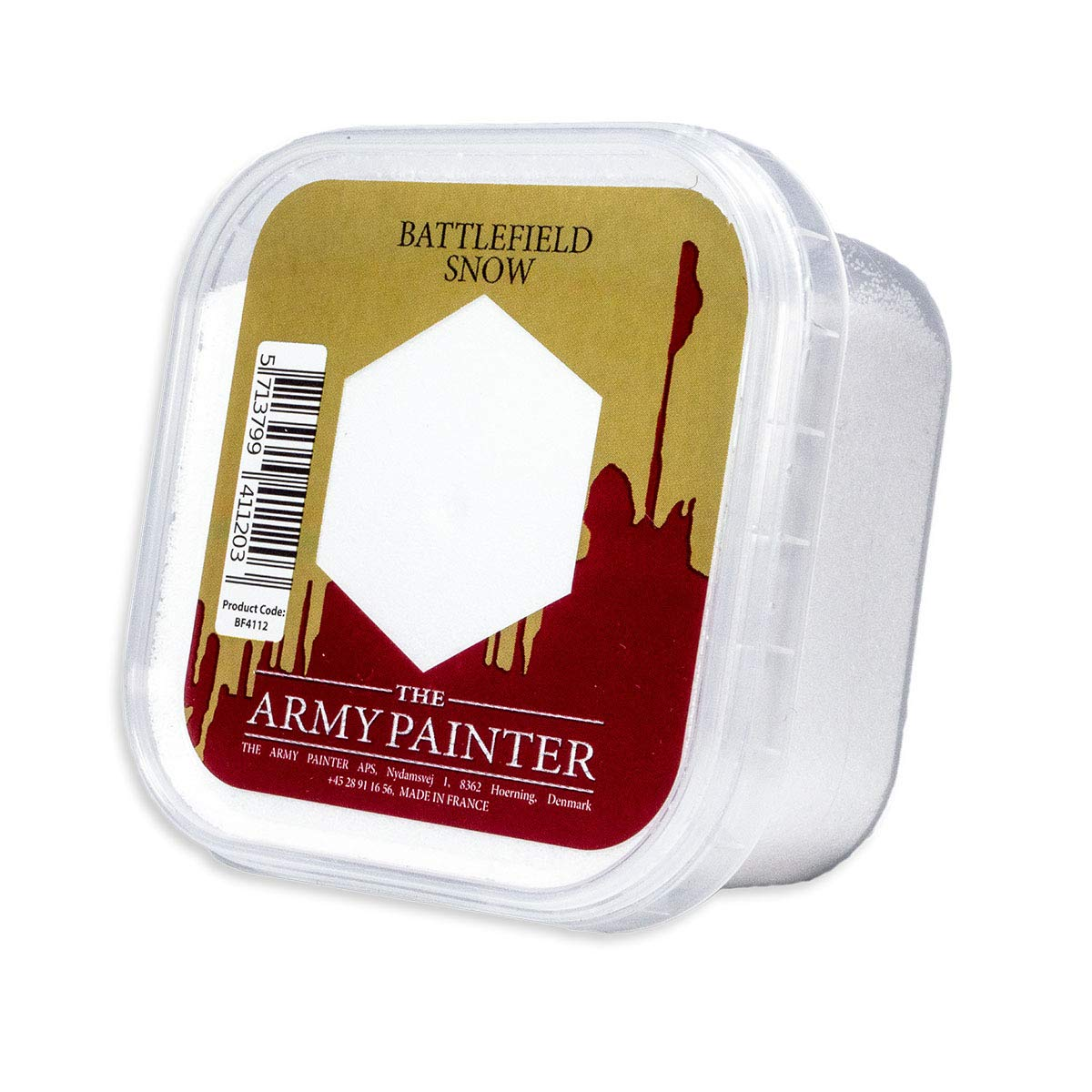 The Army Painter Basing: Battlefield Snow - Miniature Models Bases for a Realistic Look