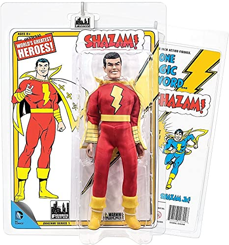 Shazam Series 1 Dr Sivana White Lab Coat 8 Inch action figure new retro mego FTC