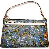 Coach Rose Meadow Pop Pouch Wristlet Handbag