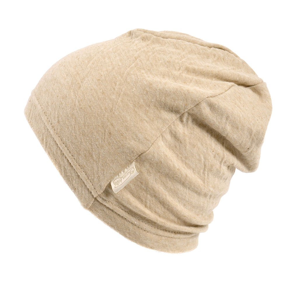 Amazon.com  Baby Boys Slouchy Beanie - 100% Organic Cotton Soft  Hypoallergenic Infant Toddler Girls Cap Made in Japan Beige  Clothing b97cb3d48ee