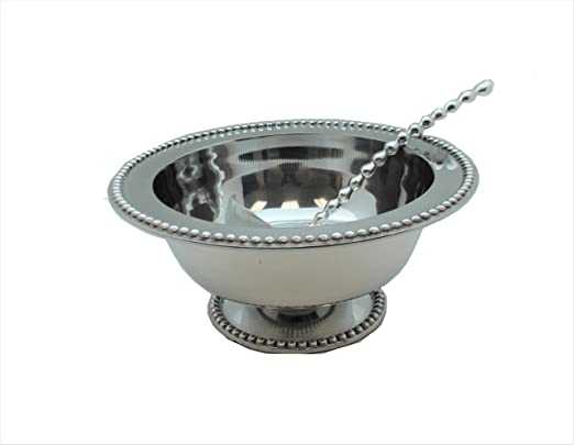 Punch Bowl Small Multi Fleur De Lis Silver Sareg Com