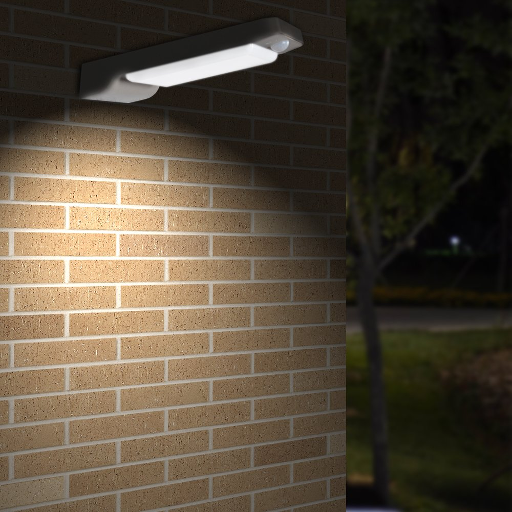 Solar Lights,VIBELITE 36 LED Outdoor Solar Motion Sensor Lights,Solar Powered Wireless Waterproof Exterior Security Wall Light for Patio,Deck,Gutter,Path,Home,Driveway,Stairs,With DIM MODE(2Pack)