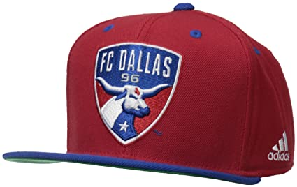 sports shoes 0769b 7d66c ... get mls fc dallas mens team logo two tone flat brim snapback hat one  size 6740f