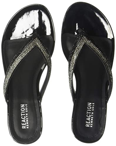 92a5ca8ded9a Amazon.com  Kenneth Cole REACTION Women s Frost Jewel Thong Sandal ...
