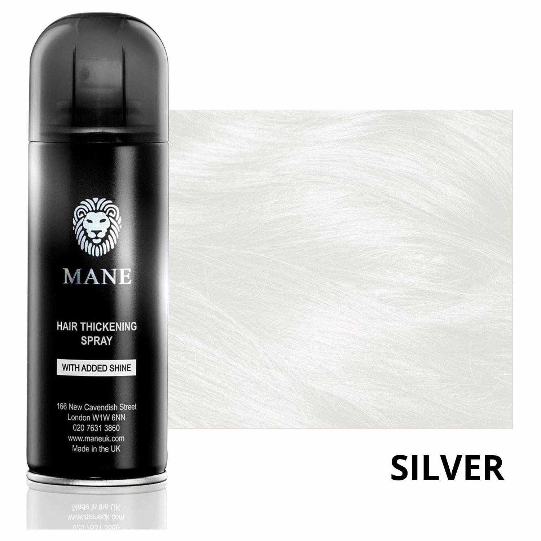 Mane Coloured Hair Thickening Spray WHITE/SILVER 200ml