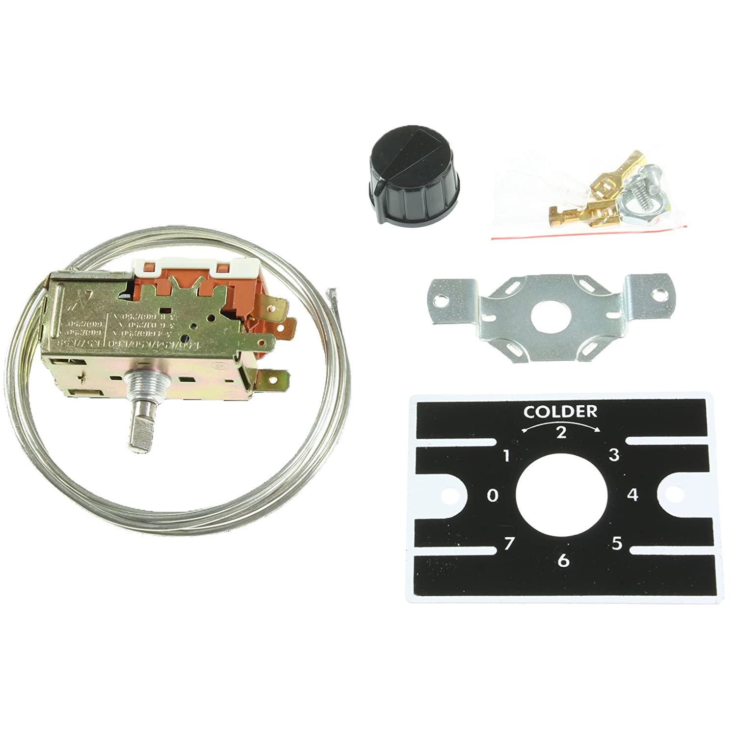 First4Spares - Repuesto k50p1126000 Kit de termostato para nevera ...