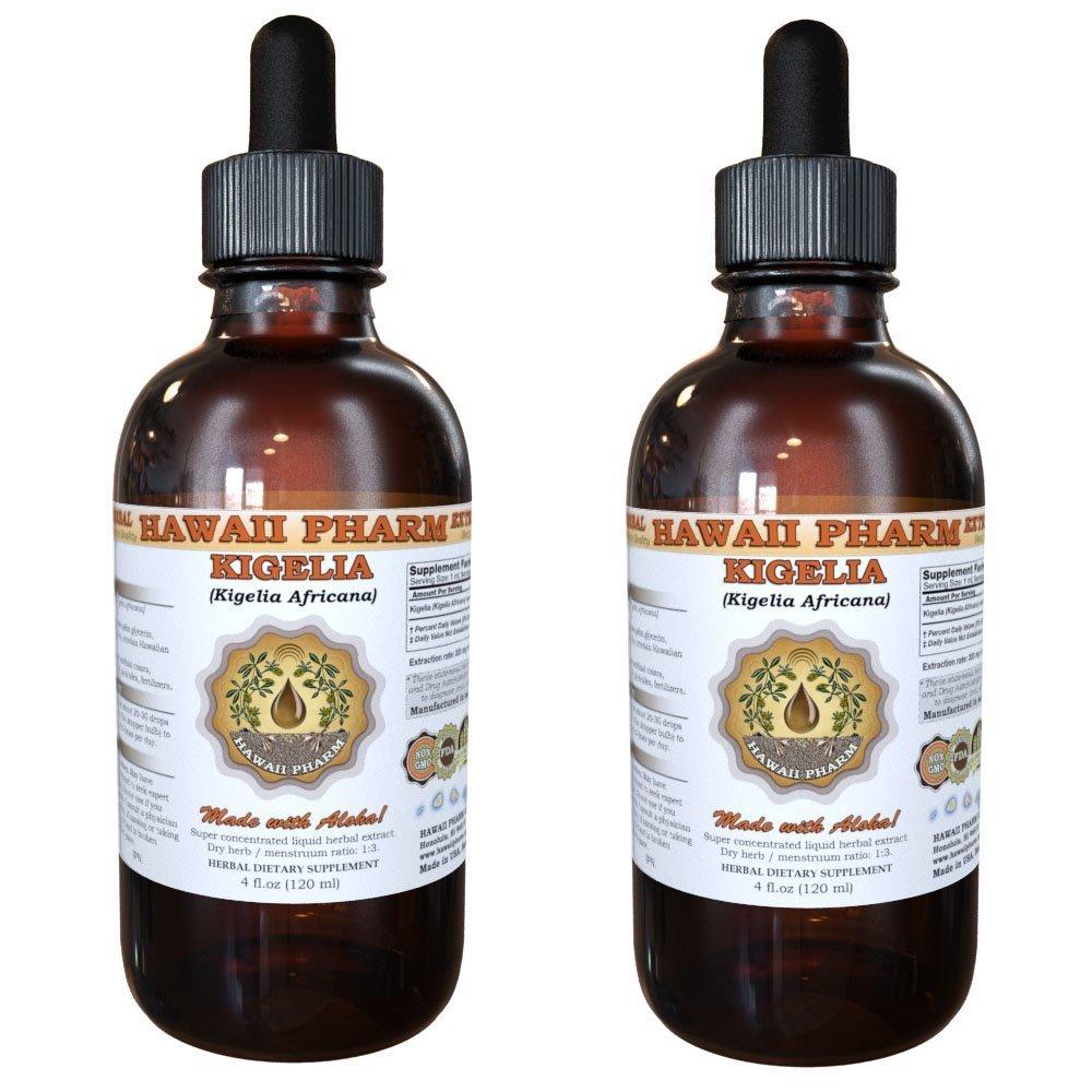 Kigelia Liquid Extract, Kigelia (Kigelia Africana) Seed Powder Tincture Supplement 2x2 oz