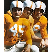 Autographed Johnny Majors 16x20 University of Tennessee Photo photo