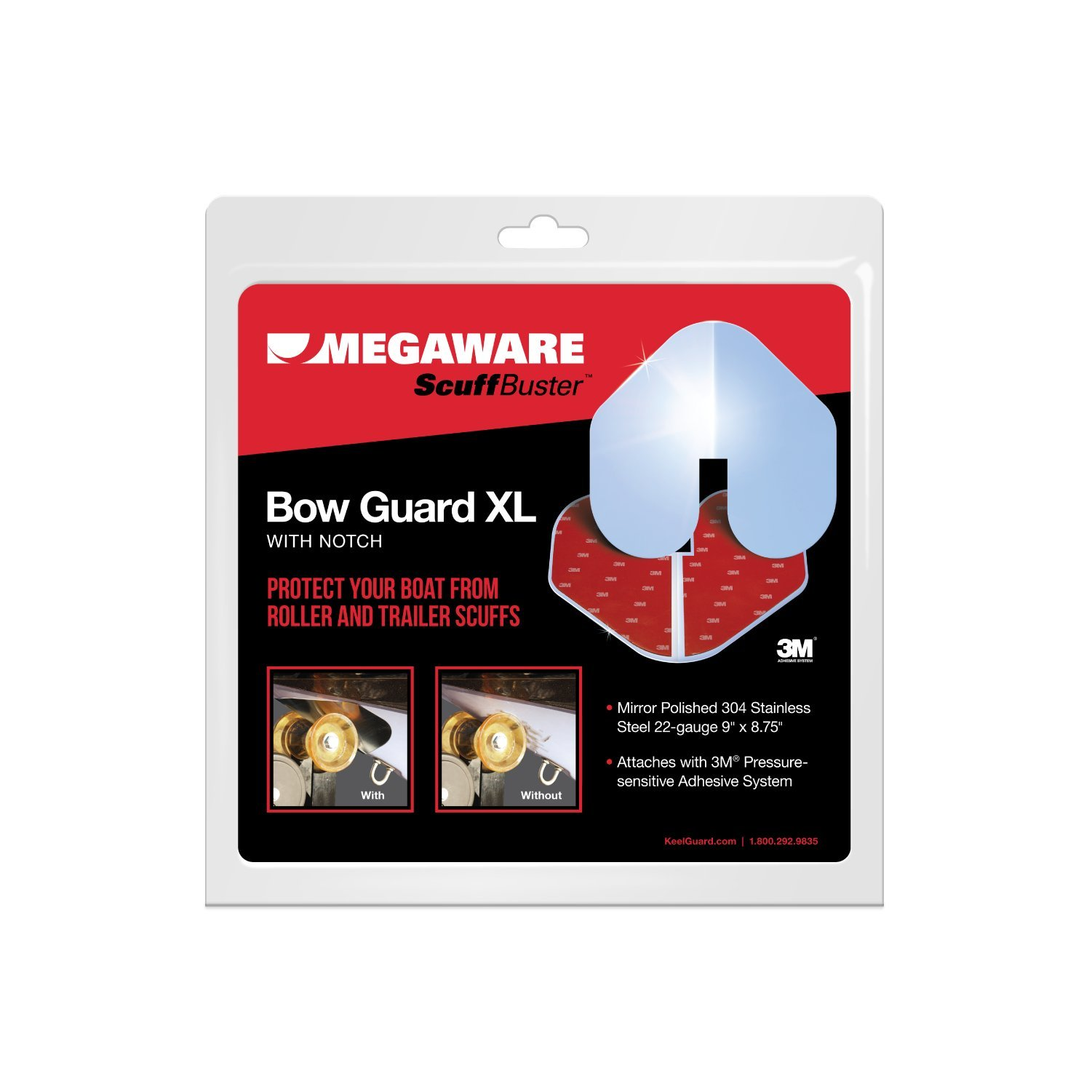 ScuffBuster by Megaware Bow Guard XL (notched)