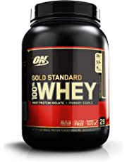 Optimum Nutrition Gold Standard 100% Whey Protein Powder, Double Rich Chocolate 2 lb