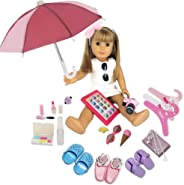PZAS Toys Fits American Girl Doll Accessories - 18
