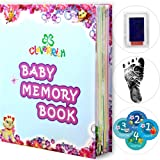 Amazon Price History for:BABY BOOKS - MEMORY BOOK - BABY FOOTPRINT - BABYS FIRST BOOK - BABY ALBUM - BABY JOURNAL