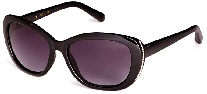 3772360b63d One Sunglasses Women s Suuna Black Amazon Size co uk Suu011 Retro tRqEwTX