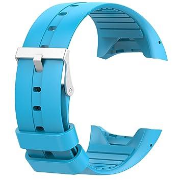 Para Polar M400 bandas, correas muñequeras de silicona reloj de ...