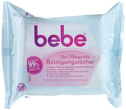 Bebe Young Care 5 in1 Toallitas paños de limpieza, 3 Pack (3 x 25 unidades): Amazon.es: Belleza