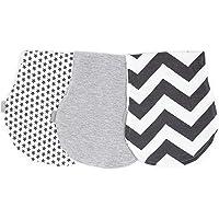 3 pack repetidores para bebé, doble capa absorbente. Paños de algodón, Baby Burp cloths