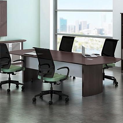 8 pies - 14 pies mesa de conferencia moderna, sala de reuniones ...