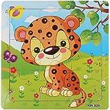 Malloom® Jouets Léopard Puzzle en Bois Pour Puzzles éducation et D'apprentissage Des Enfants Des Jouets