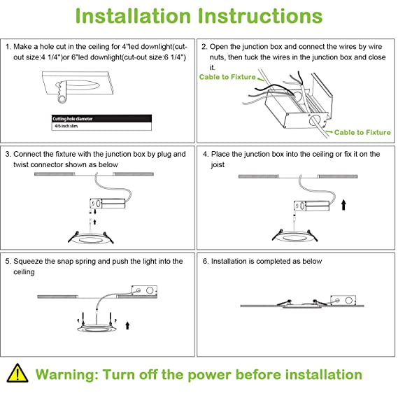 Downlight Wiring Diagram