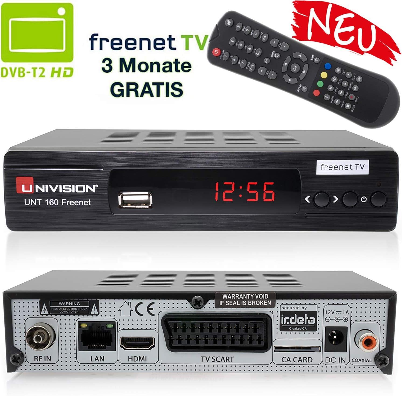 Univision Unt160 Digitaler Dvb T2 Receiver Inkl 3 Elektronik