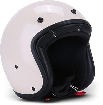 "Rebel R9 ""Calavera Jet Casco de Scooter de casco de Chopper Mofa Moto"