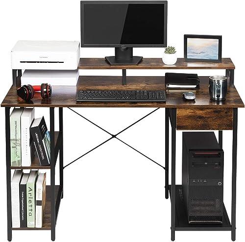 OUTFINE Desk Computer Desk Office Desk - the best modern office desk for the money