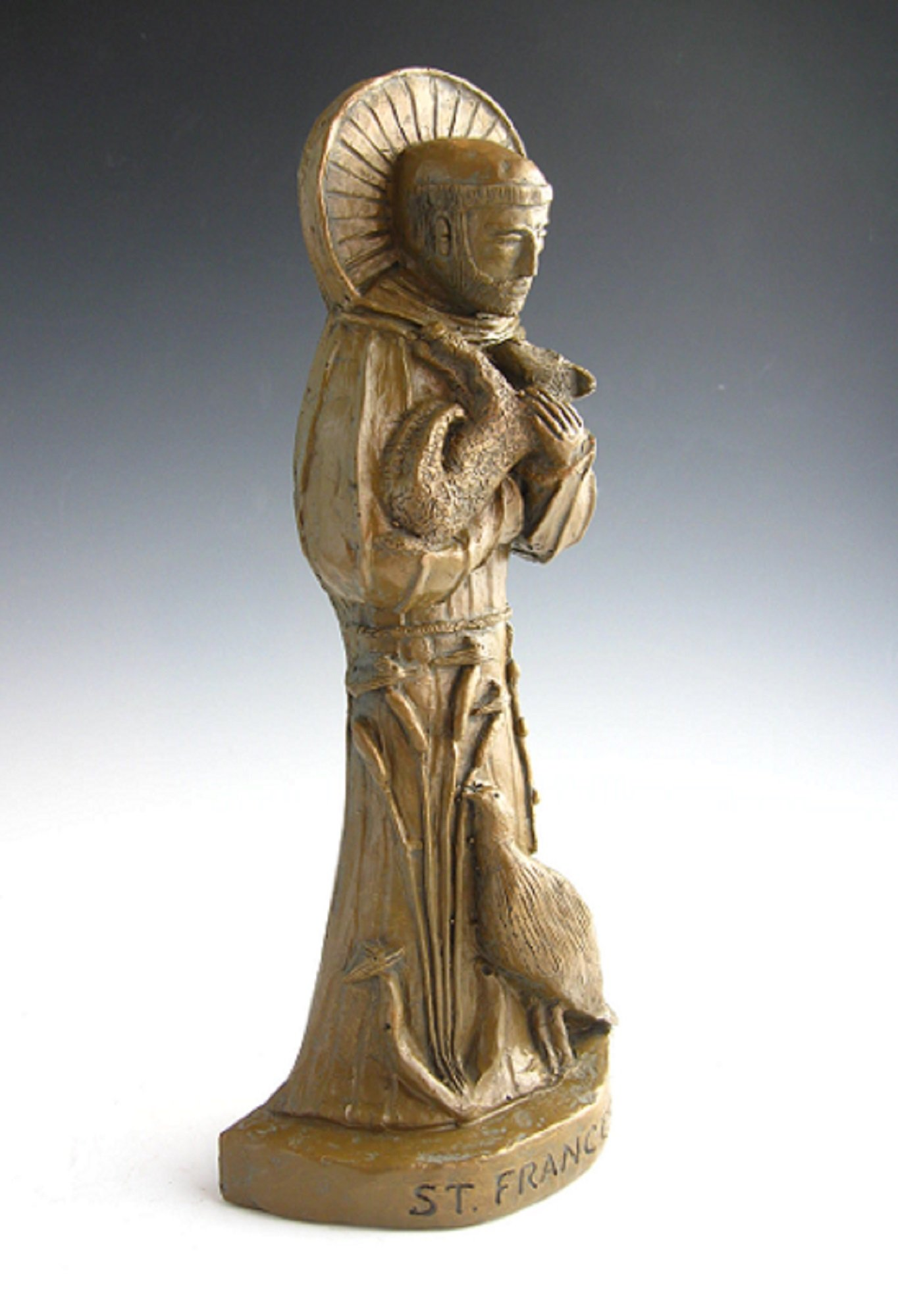 St. Francis, Patron of Nature: Handmade Statue