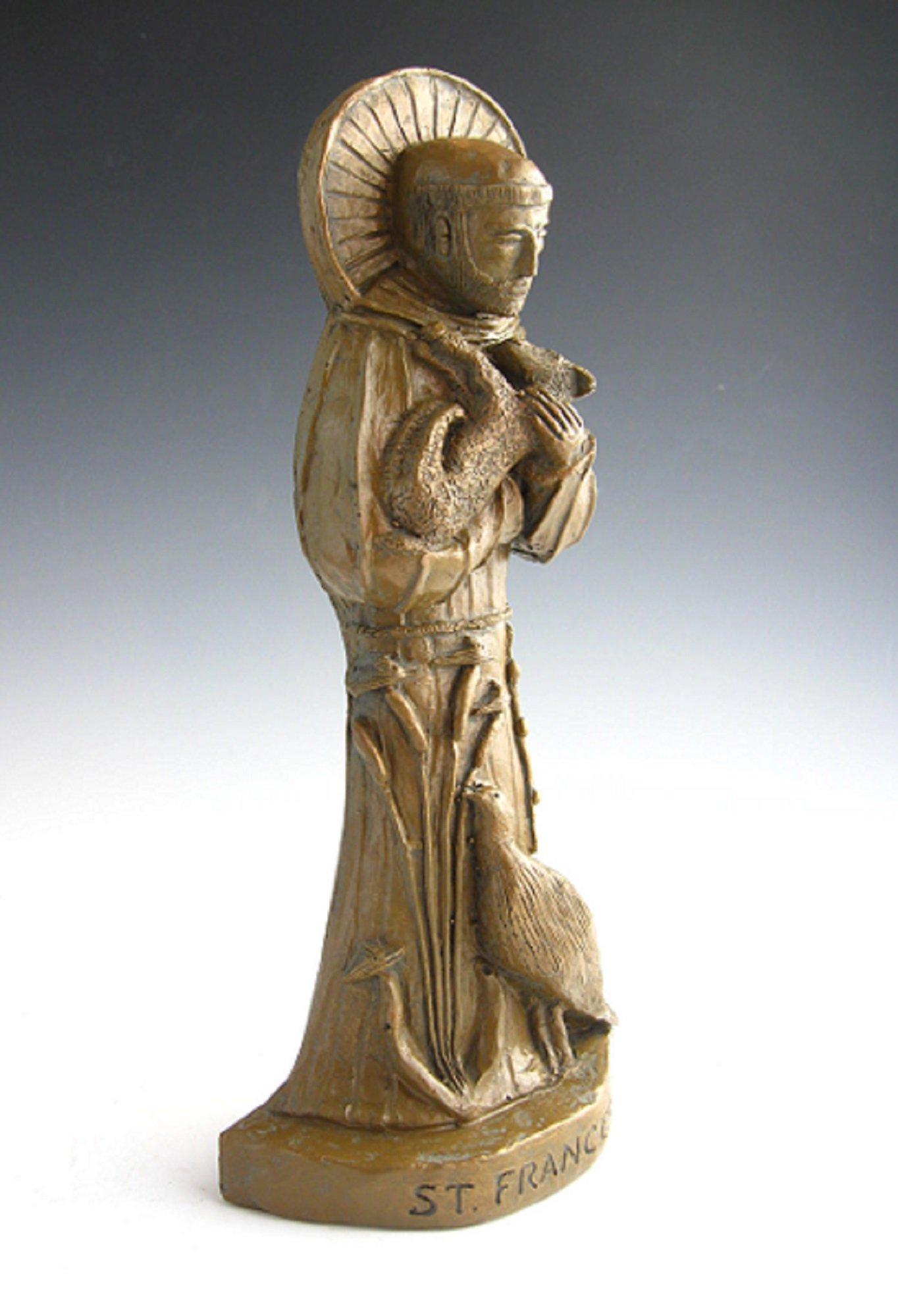 St. Francis, Patron of Nature: Handmade Statue