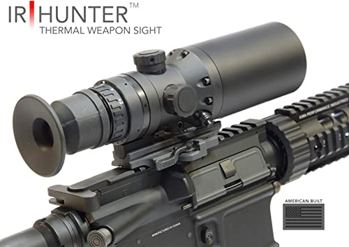 IR Defense IR Hunter Mark II 640 60hz 35mm Thermal Rifle Scope - IRHM2-640-35