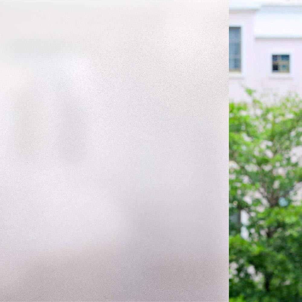 Films pour Fenêtre, unibelin Film Vitrage Opaque Dépoli Anti UV Autocollant de Fenêtre Protége Intimité pour Salle de Bain, Bureau, Cuisine, Maison 45 * 200CM product image