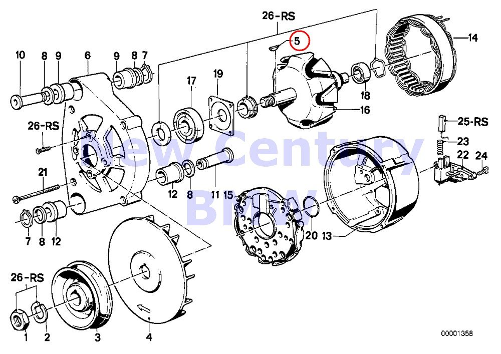 Amazon Com Bmw Genuine Engine Electrical System Steering Engine