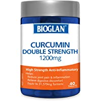 Bioglan Curcumin Double Strength Tablets, 1200mg
