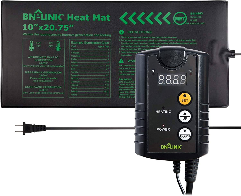 BN-LINK Durable Seedling Heat Mat Heating Pad 10