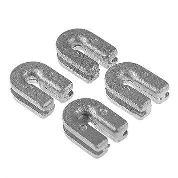 4 Stücke Aluminium Rasen Trimmer Kopf Öse für Hus T25 T35 Motorsense Ersatz DE
