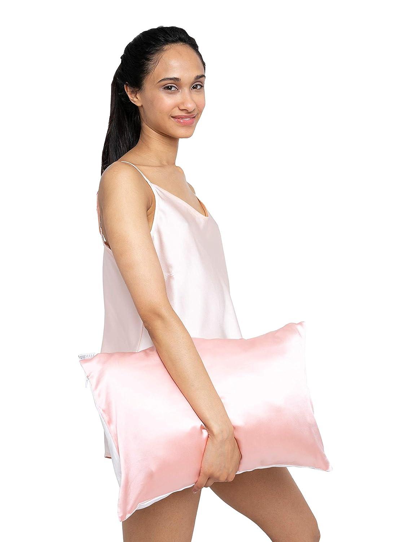 Pillow Case 1 Pack 100 Mulberry Silk Pillowcase For Hair