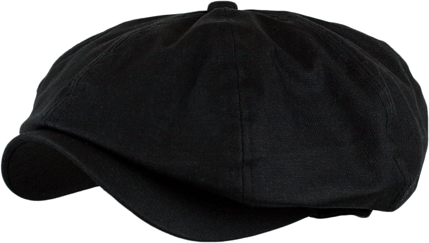 Wonderful Fashion Men's Linen 8 Panel Applejack Gatsby newsboy IVY Hat